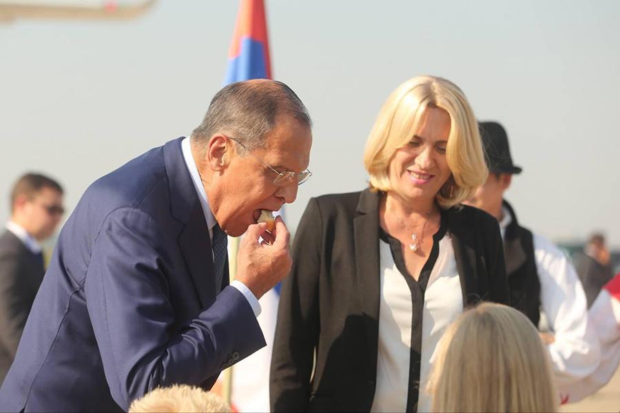 Лаврова и Русију у Бањалуци дочекали народ и градња српско-руског храма 5
