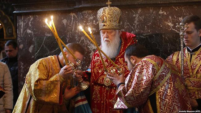 Михалков: Лажни украјински патријарх Филарет има невенчану жену и троје деце