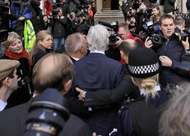 Асанжу преостала још само жалба Врховном суду Велике Британије