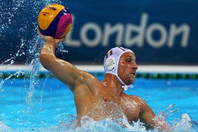 Cool water polo ball