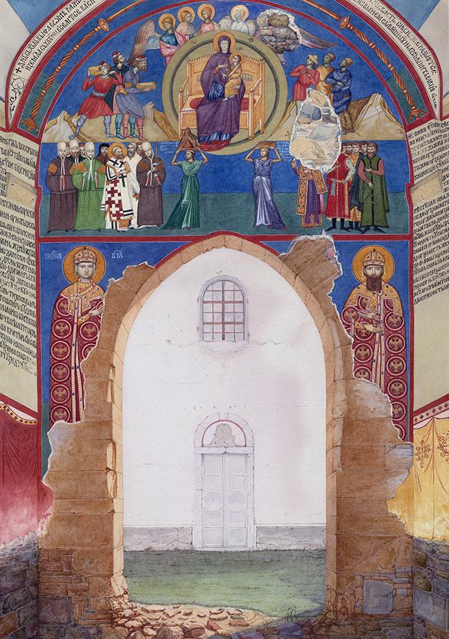 Ево како је крунисан први српски краљ – Стефан Првовенчани – у Жичи на Спасовдан 20 маја 1221. 5