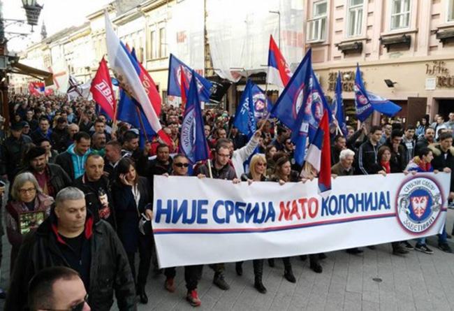 """""""Част Отаџбине"""" тражи раскид свих споразума са НАТО и његово истеривање из Србије 2"""