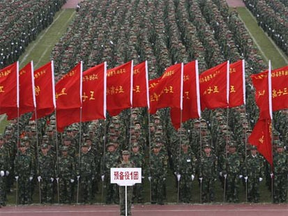 China's President Preps Army for War